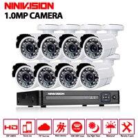 1080P HDMI DVR 1200TVL 720P HD Outdoor Home Security Camera System 8CH CCTV Video Surveillance