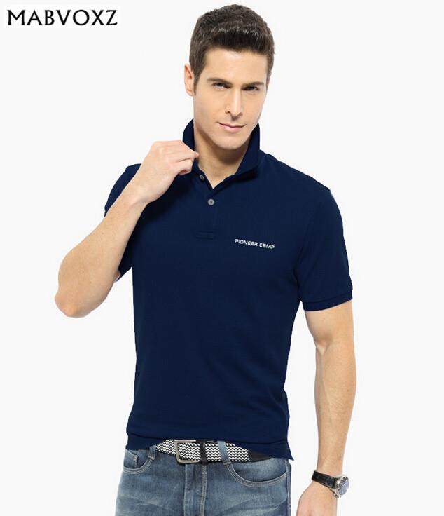 3XL Brand Men Summer   Polo   Shirt New 2018 Business Casual Mens clothing Breather anti wrinkle short sleeve shirts