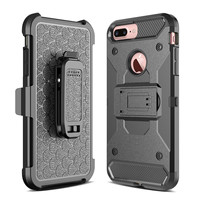 For IPhone 6 6S 7 Plus Rugged Armor Shockproof Phone Cases For IPhone 7 7 Plus