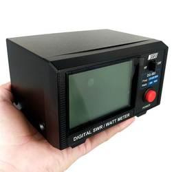 DG-503 cyfrowy miernik SWR i Watt LCD ekspozytor stojący współczynnik fali 1.6-60MHz/125-525MHz 200W dla dwukierunkowego radia Walkie Talkie