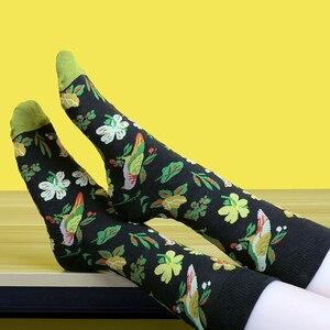 peonfly мужчин моды печать мультфильм крокодил акула зебра собака лень коала цветок птица разноцветные смешные красные носки цветные хлопок мужские короткие хлопковые носки мягкой комфорт уличный стиль носочки новинки