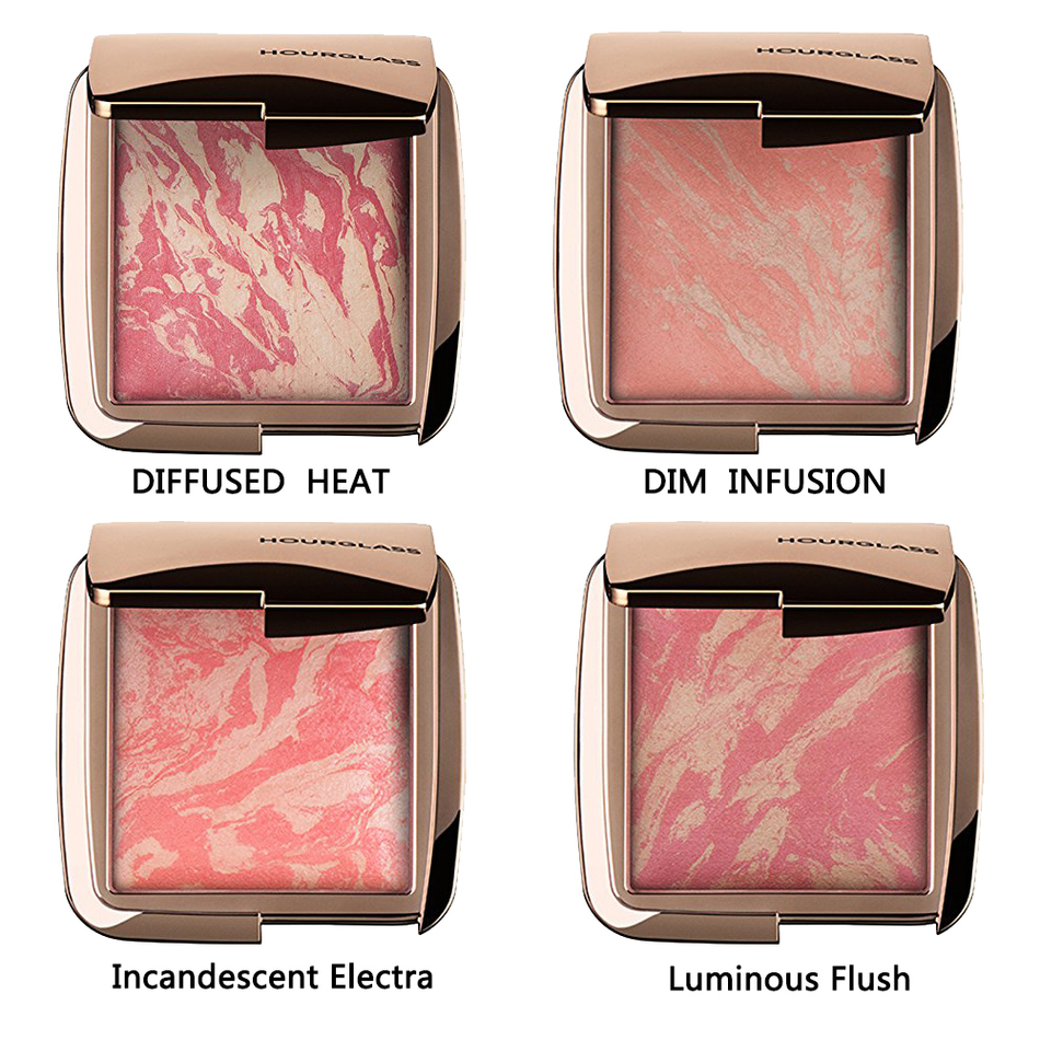 Hourglass Ambient Lighting Blush Color Luminous Flush DIFFUSED HEAT , DIM  INFUSION , Incandescent Electra, Luminous Bronzer In Blush From Beauty U0026  Health On ...