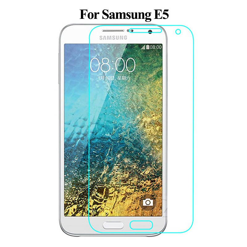 Tempered Glass For Samsung Galaxy E5 Screen Protector 9H 0.3mm 2.5D Explosion Proof Protective Glass For Samsung SM-E500F Film
