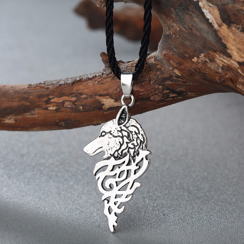 Chengxun men viking necklace wolf head slavic symbol pagan pendant chengxun men viking necklace wolf head slavic symbol pagan pendant ancient talisman celtic knot necklace teen boys amulet in pendant necklaces from jewelry biocorpaavc