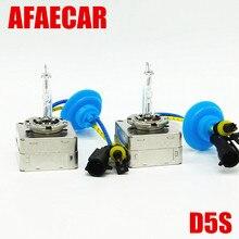 AFAECAR 2pcs d5s light xenon hid 6000k 4300k 6000k 35W Ballast bulb for VW TIGUAN kia