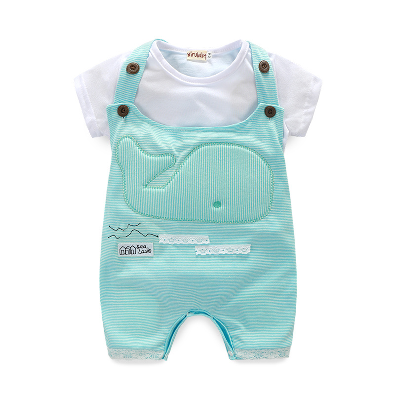 Summer kids clothes sets boy girl rompers+pants suit clothing set Clothes newborn suits baby boy clothes children boys clothes