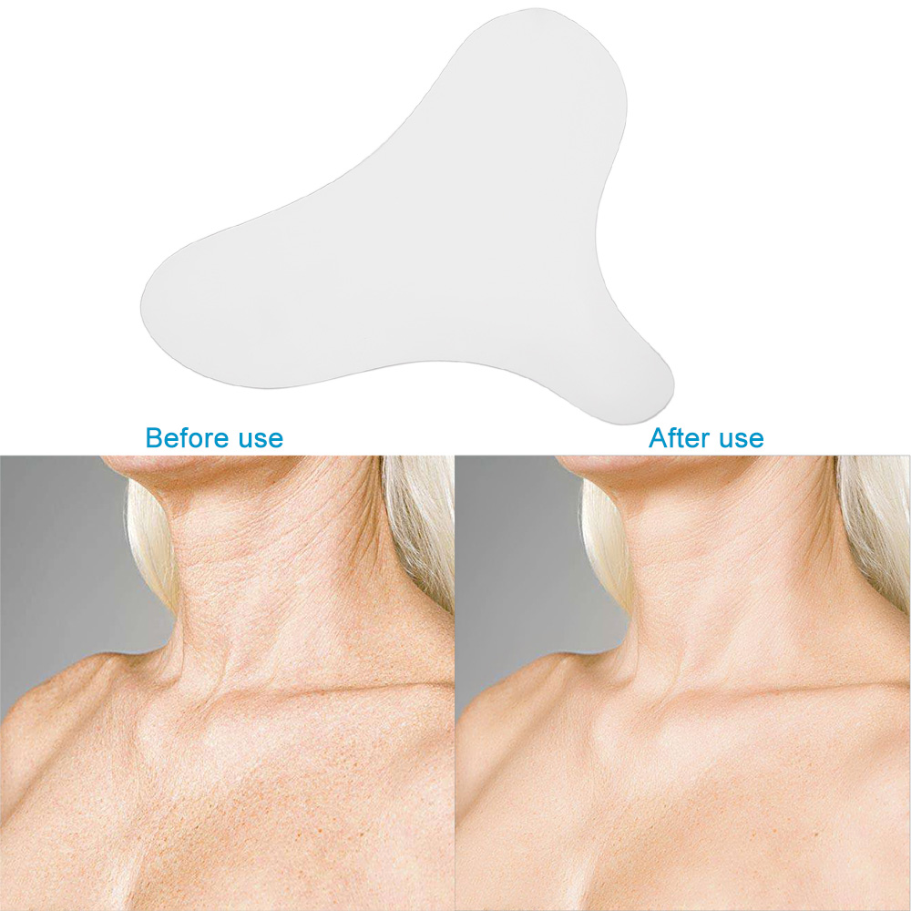 Silicone Anti Wrinkle Chest Pad To Prevent And Eliminate Wrinkles 100% Grade Silicone Skin Beauty Care Protect Lines