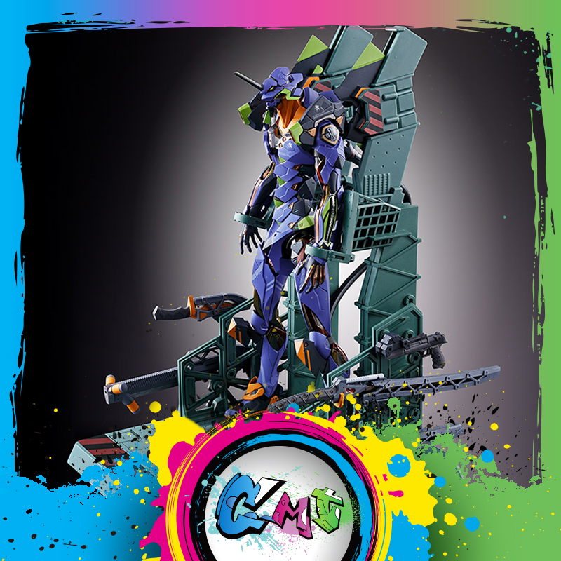 CMT In Stock ORIGIANL BANDAI Tamashii Nations METAL BUILD Evangelion First Unit Anime Metal Build Toys Figure