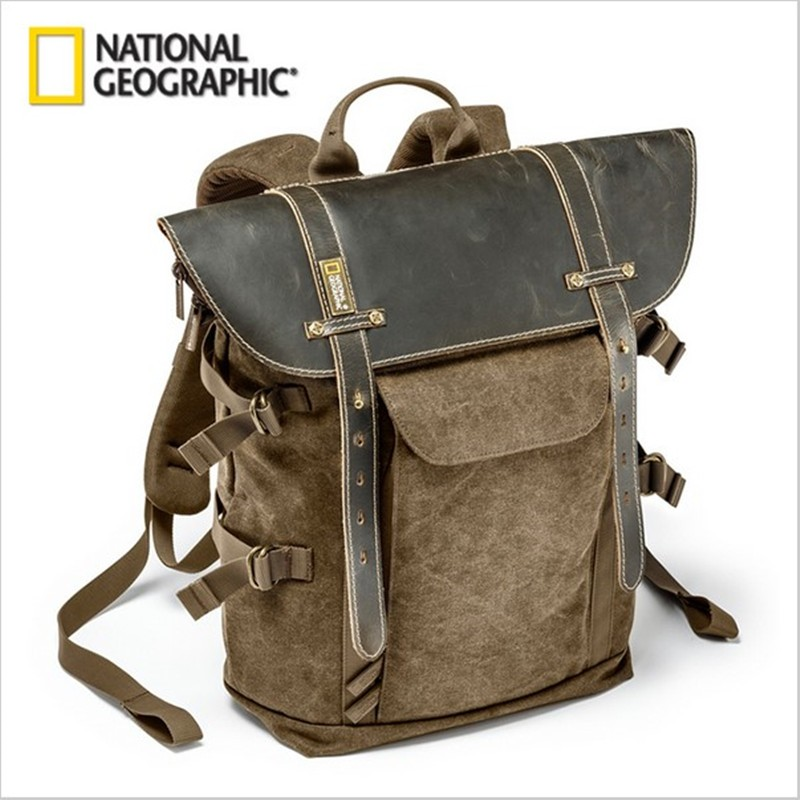 Free shipping New  National Geographic NG A5290 Backpack SLR Camera Bag Canvas Laptop Photo Bag gopro genuine lowepro pro runner 450 aw urban inspired photo camera bag digital slr laptop 17 backpack