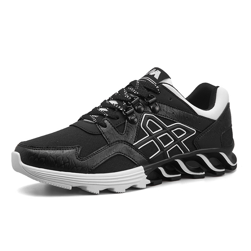 Running Shoes For Man Black White Sport Shoes Men Sneakers Breathable Zapatos corrientes de verano Red chaussure homme de marque