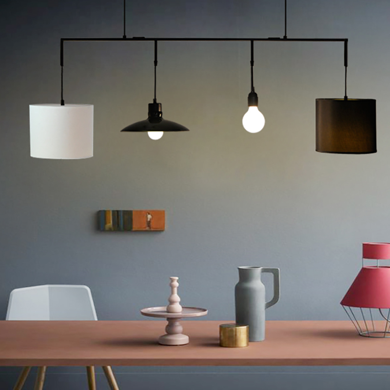 White modern creative linen lamp shade rustic hemp lamp cover bar white modern creative linen lamp shade rustic hemp lamp cover bar pendant light pendant lamp for dining room restaurant kitchen in pendant lights from mozeypictures Choice Image