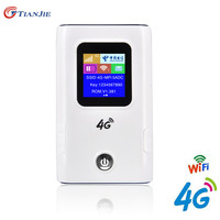 4g LTE WiFi Router Mini Modem 3G 4g FDD TDD Cat 4 150Mbps Wireless Broadband Portable Wi fi Mobile Hotspot with sim card slot