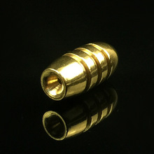 20PCS/Lot brass bullet sinkers  Bass Fishing for Texas Rig new Fishing Sinkers Bullet Shape Copper Tackle Sinkers Fishing Tackle