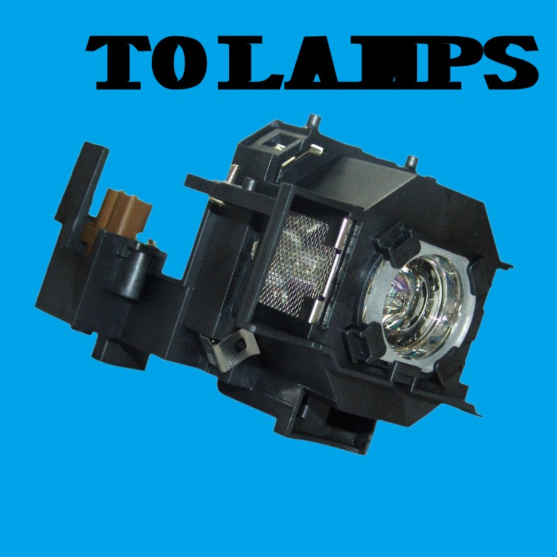 ELPLP43 / V13H010L43 Replacement Projector Lamp with Housing for EPSON EMP-TWD10 / EMP-W5D / MovieMate 72 projector replacement lamp elplp44 v13h010l44 for eh dm2 emp dm1 moviemate 50 moviemate 55 with housing happybate
