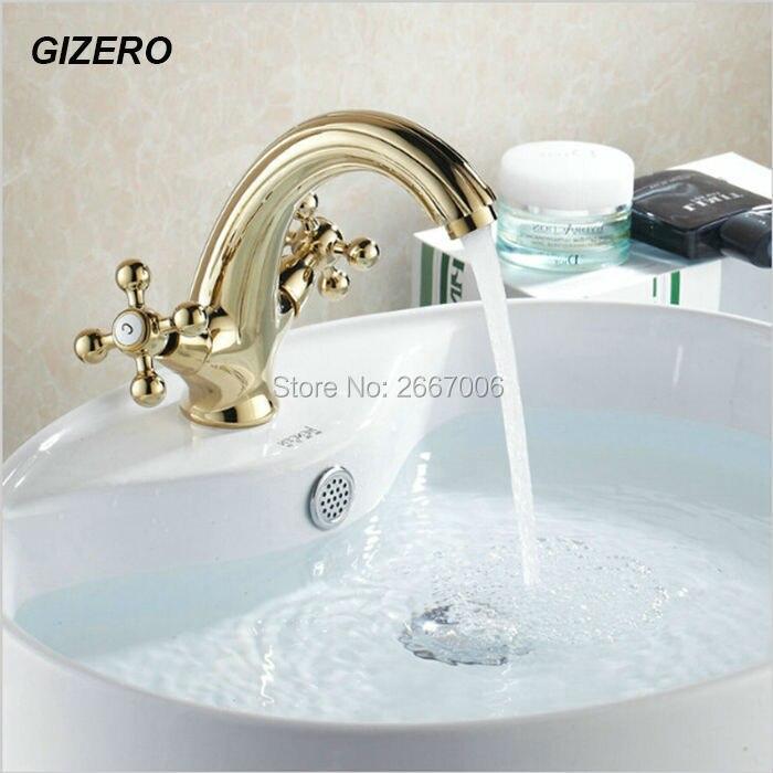 gizero trasporto libero bello disegno rubinetto cartuccia di ceramica durevole rubinetto miscelatore vasca da bagno raddoppiano