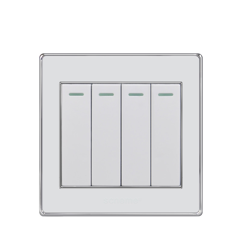 Colorful Electric Wall Switches Home Collection - Electrical Diagram ...