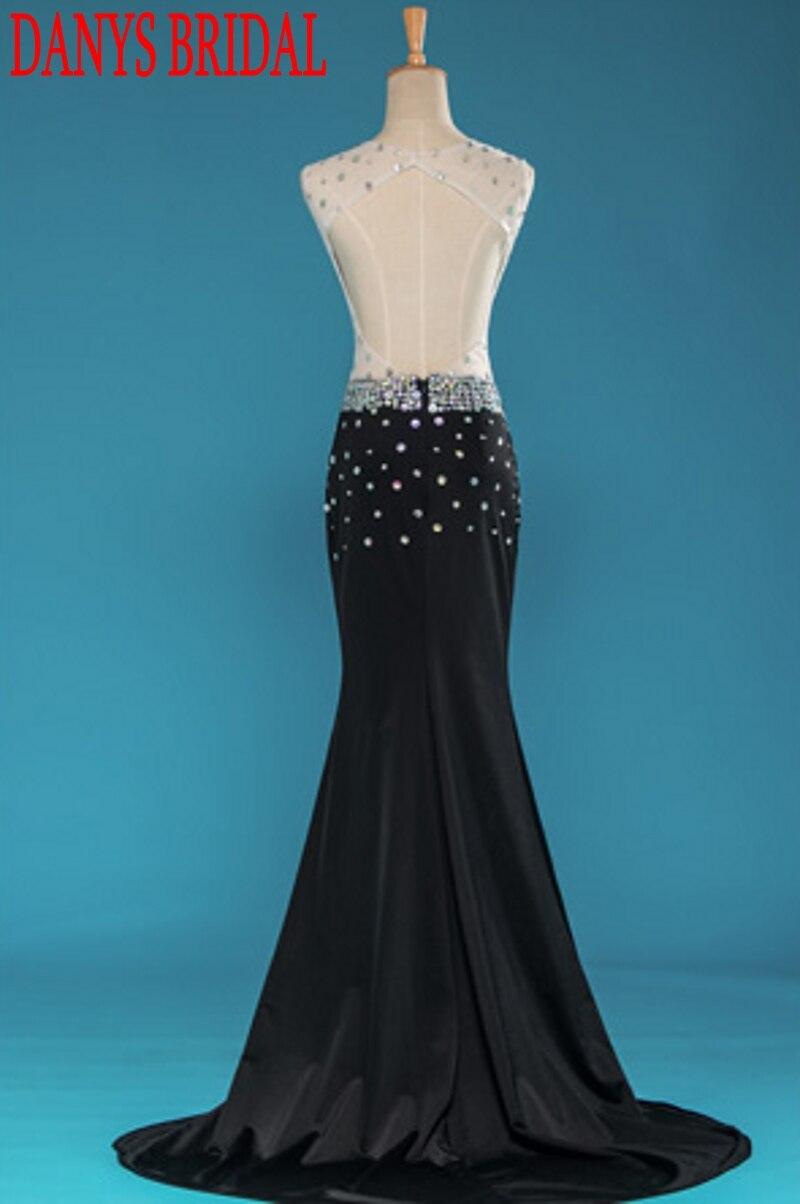 Aliexpress.com : Buy Luxury Crystal Long Evening Dresses Mermaid ...