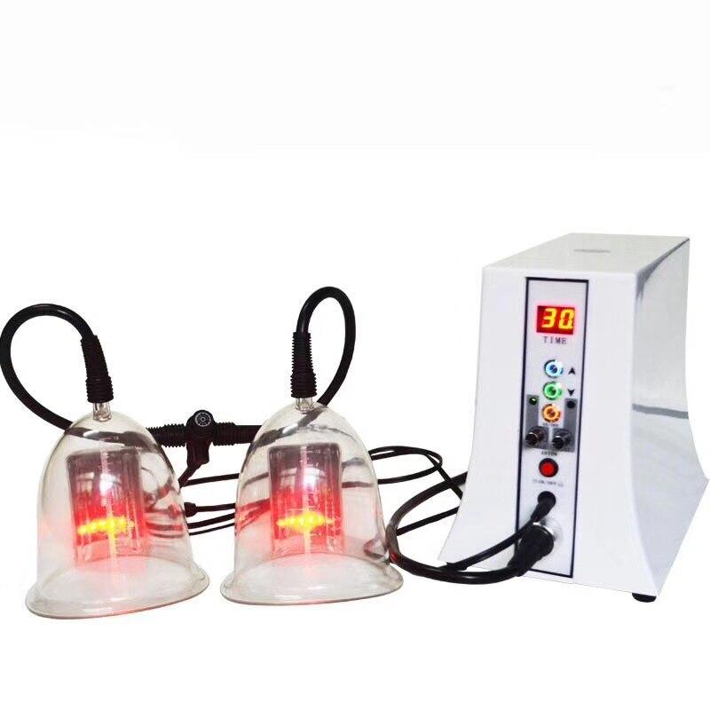 Venta caliente 2019 Salon ventosas masajeador de cuerpo máquina potenciadora de pecho con equipo de aumento de pezones de masaje con descuentos
