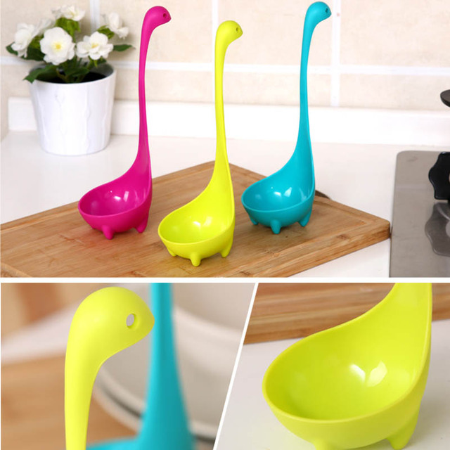 Creative cooking pots dinosaur soup cooking spoon