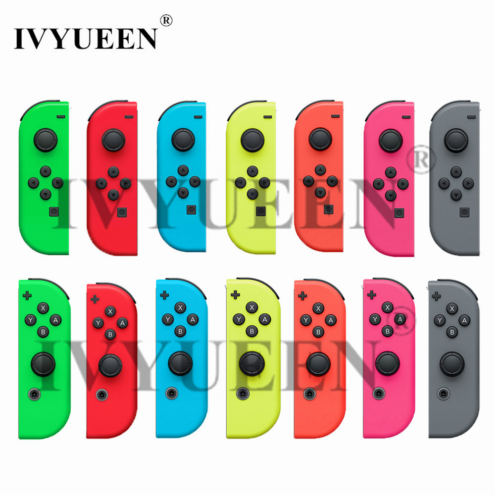 IVYUEEN verde rosa rojo para Nintend Switch Joy-Con carcasa de repuesto para NS JoyCon funda para NX Joy Con Controller Case