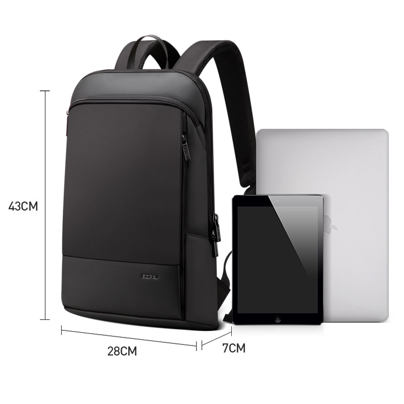 good quality retail prices reputable site US $47.03 52% OFF|BOPAI Slim Men Backpack Thin Ultralight Laptop Backpack  for 15.6inch Fashion Office Work Waterproof Business Backpack for Men-in ...