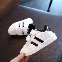 Zapatos de moda para niños y niñas zapatos de concha deportivas de deporte para niños pequeños Fondo suave para Bebé talla Europea 21-30