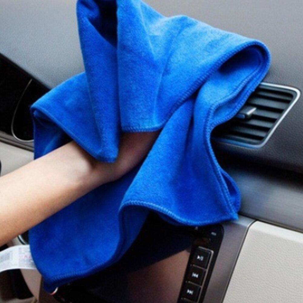 BU-Bauty New Car Care Quick Detail Wax Buffing/Polishing 40X40CM Grey Cloth Microfiber Towel Car Wash and Maintenance