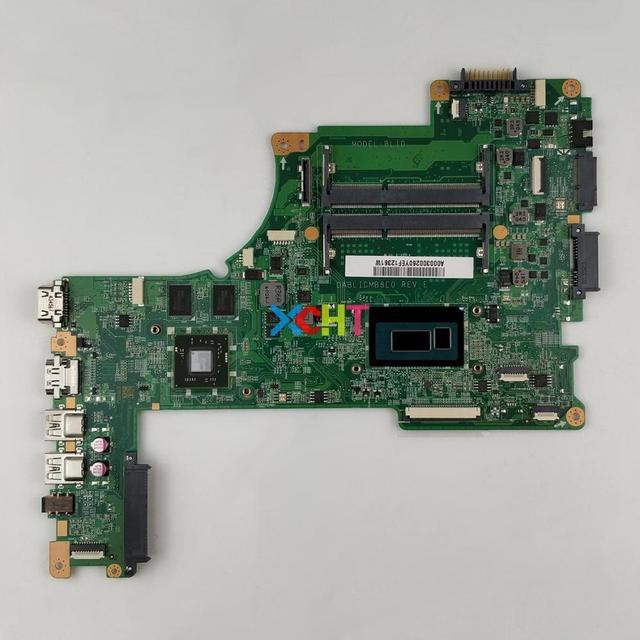 A000300260 DABLIDMB8E0 w I5 4210U CPU 216 0858020 GPU dla Toshiba Satellite L50 B Notebook PC płyta główna płyta główna laptopa płyty głównej płyta główna