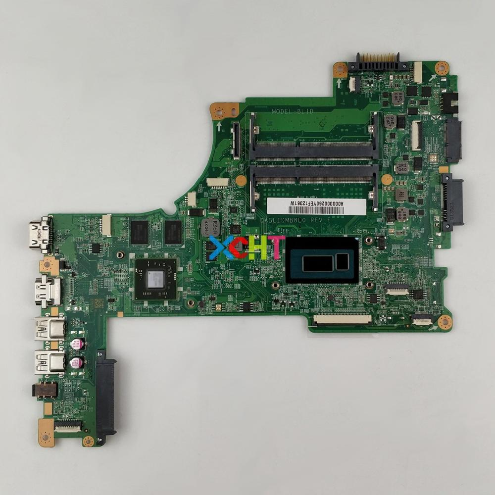 A000300260 DABLIDMB8E0 w I5 4210U CPU 216 0858020 GPU for Toshiba Satellite L50 B Notebook PC Laptop Motherboard Mainboard-in Laptop Motherboard from Computer & Office