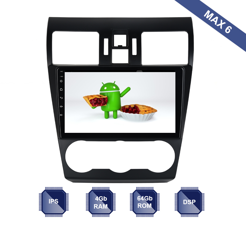 Well-Educated Android 9.0 Car Radio 2 Din Gps Navi For Subaru Forester Wrx Xv 2016 2017 Px6 Dsp 2.5d Ips Screen 4gb 64gb Rom 6-core Rds Wifi To Win A High Admiration And Is Widely Trusted At Home And Abroad. Car Intelligent System