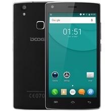 Doogee X5 Max 5.0 дюймов Android 6.0 3 г смартфон MTK6580 4 ядра HD Экран 1 ГБ + 8 ГБ отпечатков пальцев Сенсор BT 4.0 мобильный телефон