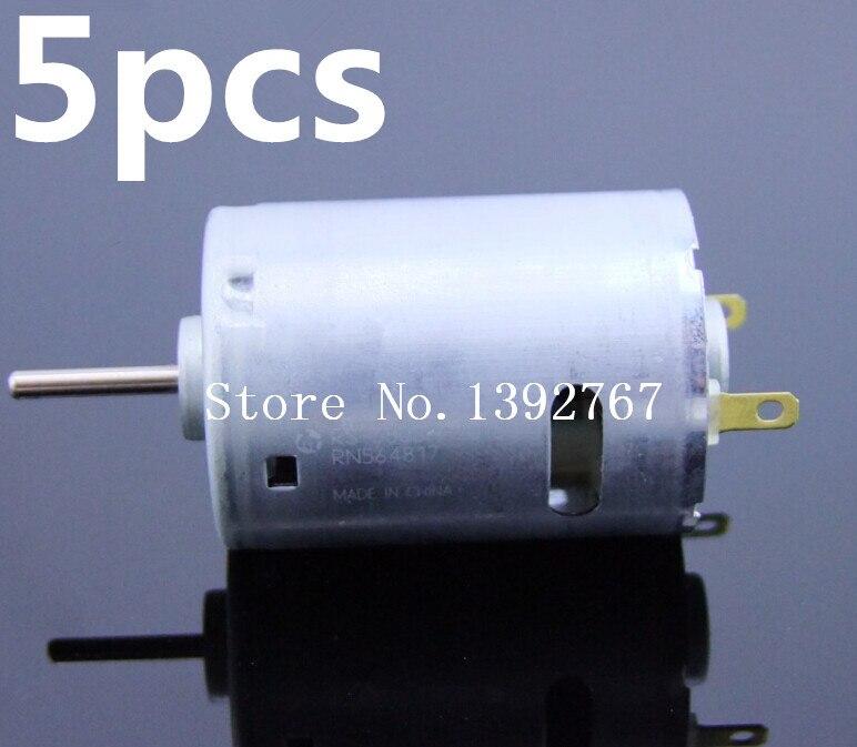 Wholesale 5pcs Lot 380 Motor Electric 1 16 Remote Control