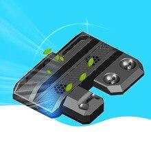 Refrigerador Ventilador De Refrigeração Do Console Do Jogo Jogo Suprimentos multifuncional Base de Acolhimento Para Série VR Óculos Para PS4/Controlador de Movimento Legal Stand