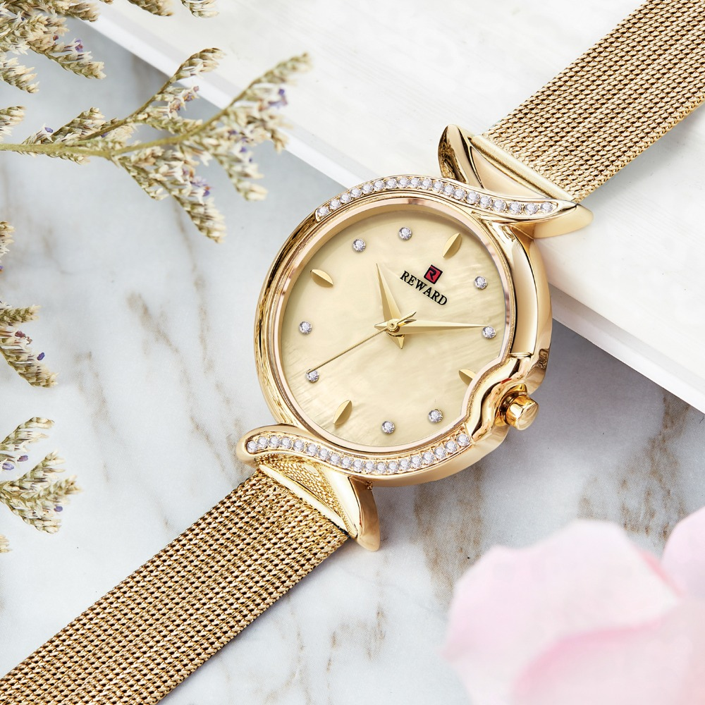 Relogios Feminino Luxury Brand Fashion Waterproof High Quality Quartz Watch Women Watches Female Wrist Watches Girl  RD63075L|Women's Watches| |  - title=