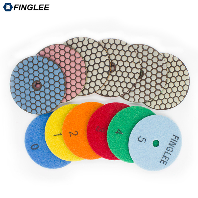 FINGLEE 6 pz / set, 3 pollici, 4 pollici 5 gradini tamponi per - Utensili elettrici - Fotografia 2