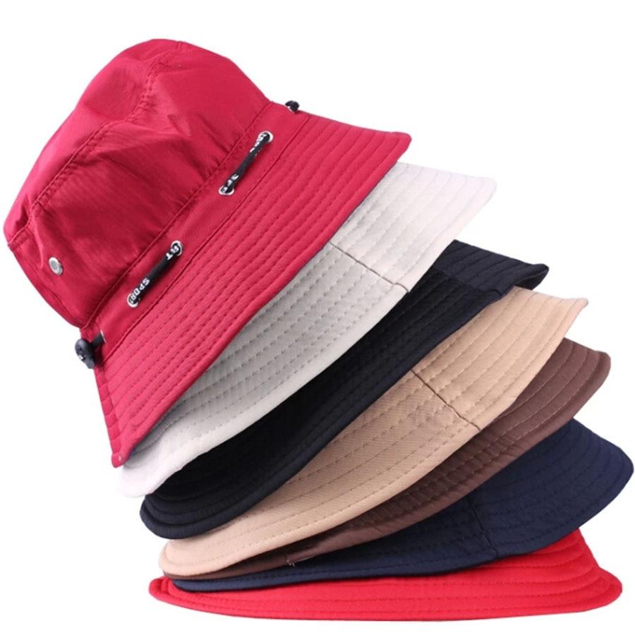 Hot Sale Bucket Hat Panama Hip Hop 2016 Fashion Casual Wide Brim Hats Men Summer Gorros De Pesca Hombre Women Sun Cap HT014 rosicil new letter hats gorros bonnets cocain