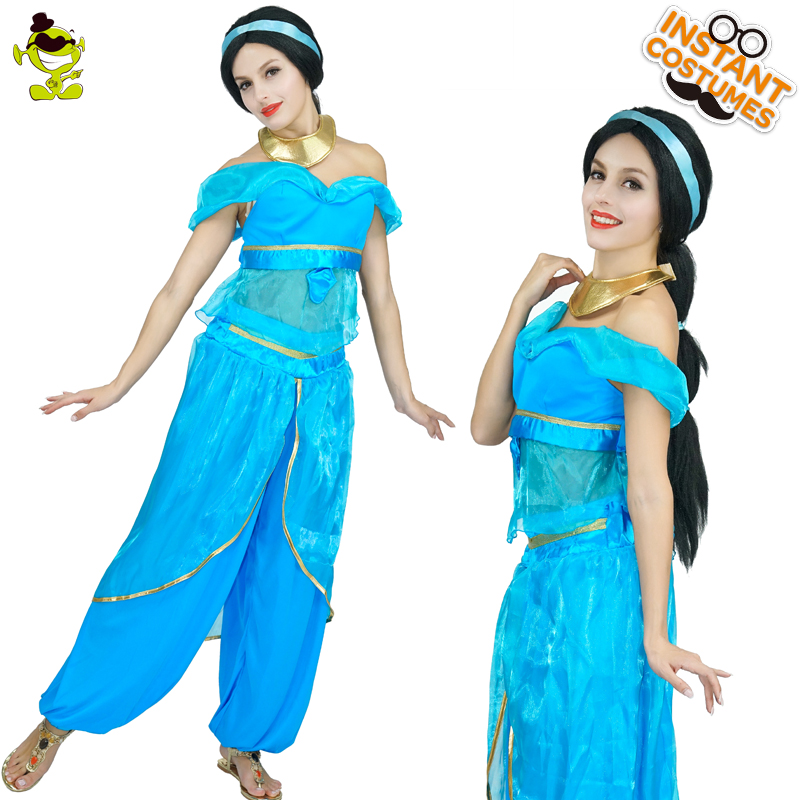 Aliexpresscom  Buy Qlq Women Blue Sexy Arab Princess Costumes