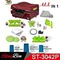 ST 3042 Pakket 3D Vacuüm Persmachine Warmte Pers Printer 3D Sublimatie Warmte Persmachine voor Gevallen Mokken Borden Glazen