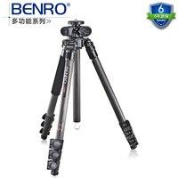 Новый BENRO C2980F многофункциональный серии углеродное волокно штатив для макро поперечной оси + сумка комплект, максимальная нагрузка 12 кг
