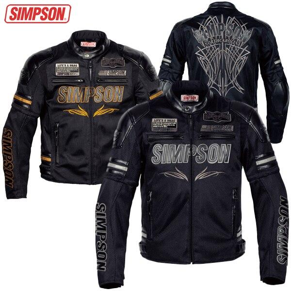 Съемный мотоцикл гонки сетки летняя куртка SJ-6115B воздушного потока рукавом Симпсон