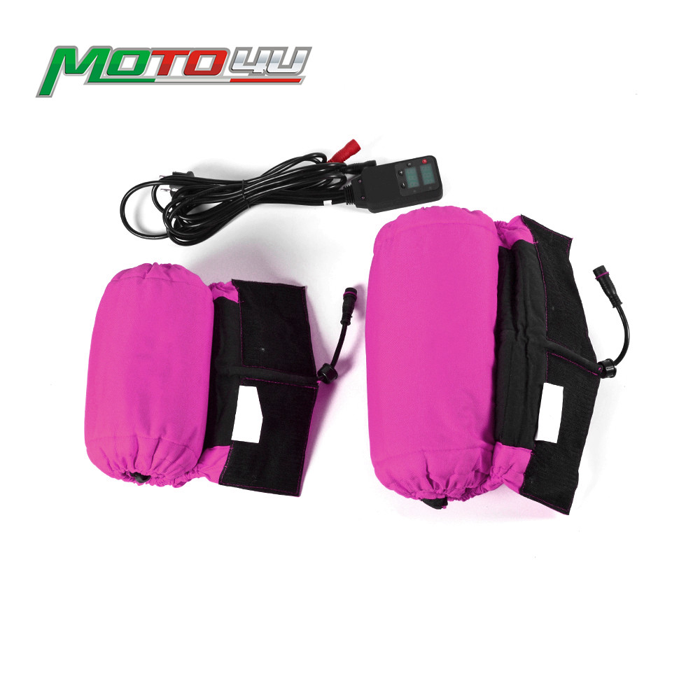 Pink Digital Motorcycle Tire Warmer 120 165 Motorbike Tyre Warmer Front and Rear 17 inch Electric