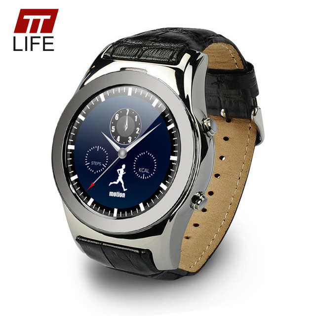 New Arrivel TTLIFE Brand LW01 Round Dial Smart Watches Support SIM SD Card GPRS SMS MP3 MP4 Smart Watch For iPhone android phone