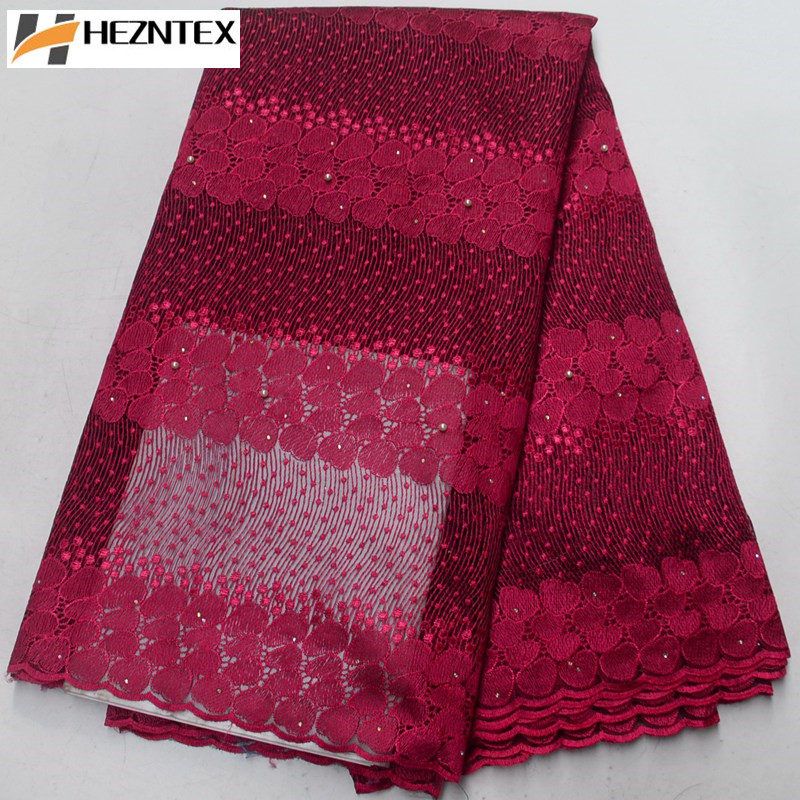 Best Sale African Tulle Lace Fabric Fushia Pink French Fabrics High Quality African Net Lace Fabric