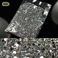 1.5mm 20000pcs/pack 3D Clear Transparent Gems Rhinestone Decoration Round Crystal Glitter DIY Nail Studs Stickers For DIY Tips