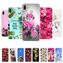 Voor Huawei P20 Lite Case Siliconen Leuke Soft Back Cover Tpu Telefoon Case Voor Huawei P20lite P 20 Lite P20 lite Gevallen Coque Fundas