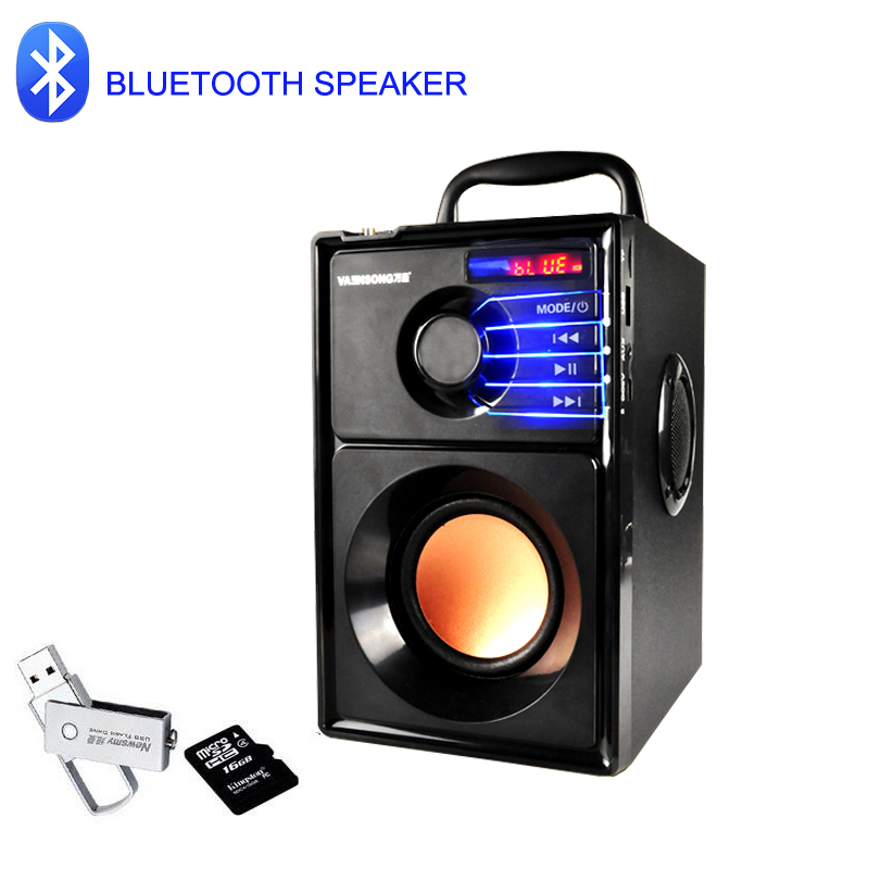 A10 10W Bluetooth Speakers HIFI Stereo Portable Speaker Wireless Super Bass Dual Speakers Column Box With TF FM Radio USB AUX In sc208 wireless speaker bluetooth 4 0 caixa de som stereo subwoofer speakers tf usb fm radio built in mic dual bass sound box