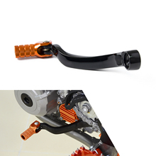 CNC Folding Tip Forged Gear Shifter Lever Foot Pedal For KTM 125 150 200 250 300 350 450 505 SX XC SXF XCF XCW EXC XCFW EXCF MXC