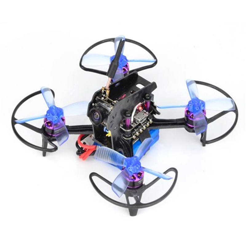 Awesome Q95 95mm FPV Racing Drone With F3 10A Blheli_S 1103-7500KV Motor 5.8G 48CH 25mW 600TVL PNP For RC Drone RC Toys Models fpv wireless 5 8g 48ch rd945 dual diversity receiver with a v and power cables for fpv racing drone rc airplane toys part