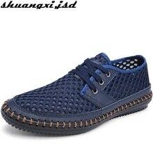 Men Sandals New Arrive Casual Shoe Super Breathable Lightweight Fashion Beach Shoes Summer Air Mesh Men's Sandal