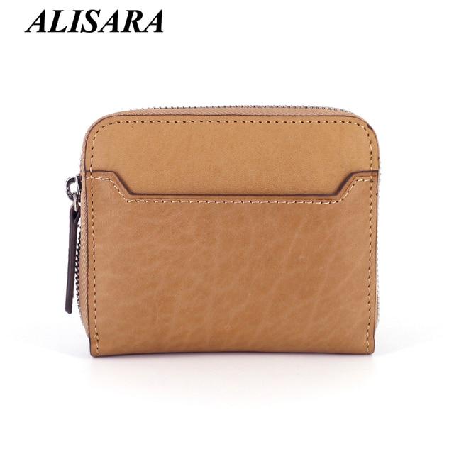 women's purse genuine leather wallet Small Change Purses Coin Pocket mini key pouch male luxury handbag Card Holders men wallets
